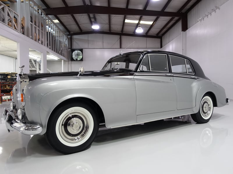 1963 Rolls-Royce Silver Cloud III for sale at Daniel Schmitt & Co., classic car gallery, classic motorcars, old rolls-royce for sale, daniel schmitt classic cars