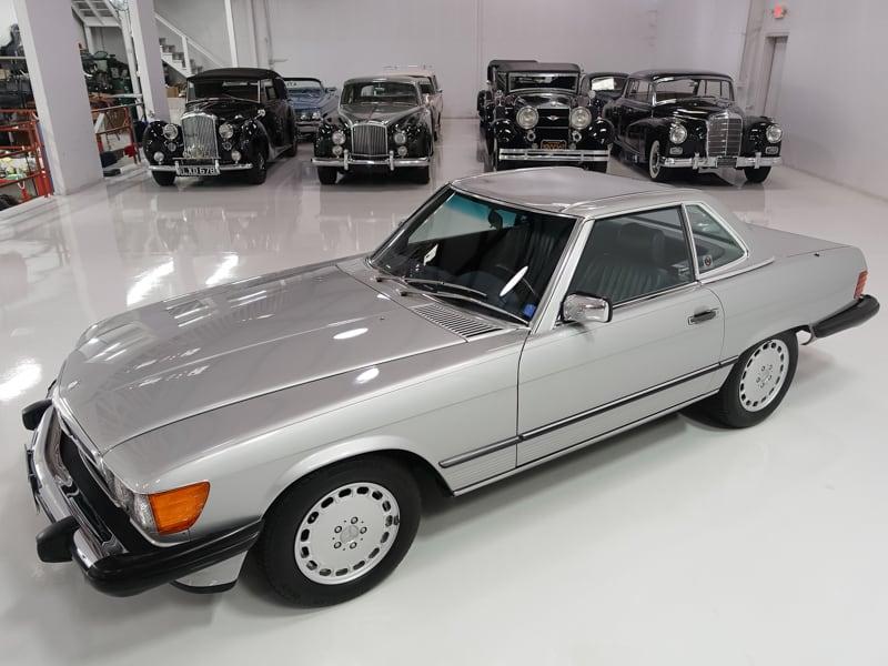 1987 Mercedes-Benz 560SL Roadster for sale | Daniel Schmitt & Co