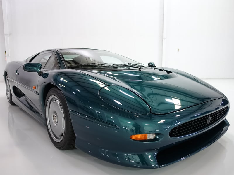 1994 jaguar xj220 | only 5,419 actual miles | ebay