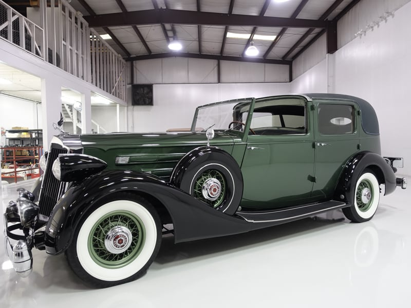 1936 Packard Twelve All Weather Cabriolet