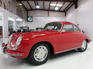 1964 Porsche 356C Coupe by Karmann for sale Daniel Schmitt & co classic car gallery st. louis, daniel schmitt cars
