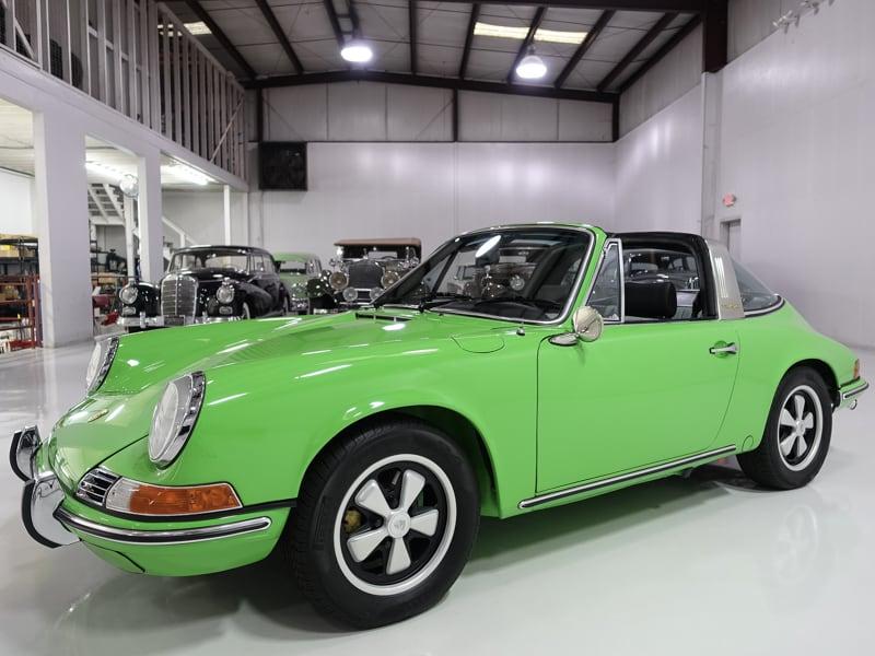 1969 Porsche 911E Targa for sale by Daniel Schmitt & co. Classic car gallery , classic porsche 911e, porsche 911 for sale, 911 targa