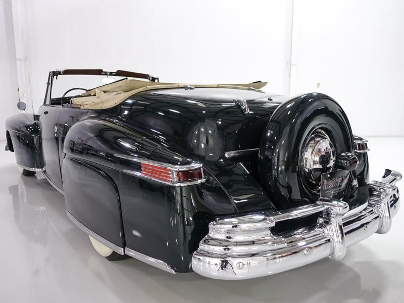 1948 lincoln continental convertible daniel schmitt co. Black Bedroom Furniture Sets. Home Design Ideas