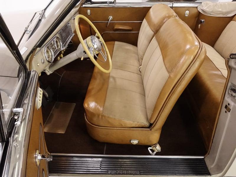 1949 Packard Super Eight Victoria Convertible | Only 41,152 original miles!: 1949 Packard Super 8 Victoria Convertible | Original interior | 327ci Straight-8