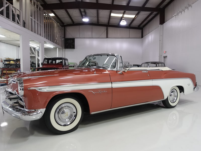 1955 DeSoto Fireflite Convertible for sale by daniel schmitt & CO. classic car gallery, St. Louis, desoto convertible for sale, classic desoto fireflite