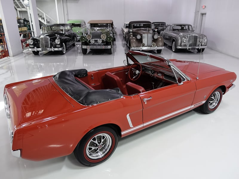 1965 Ford Mustang Convertible   Several GT options!: 1965 Ford Mustang Convertible   289ci V8 C-Code engine   Recently serviced
