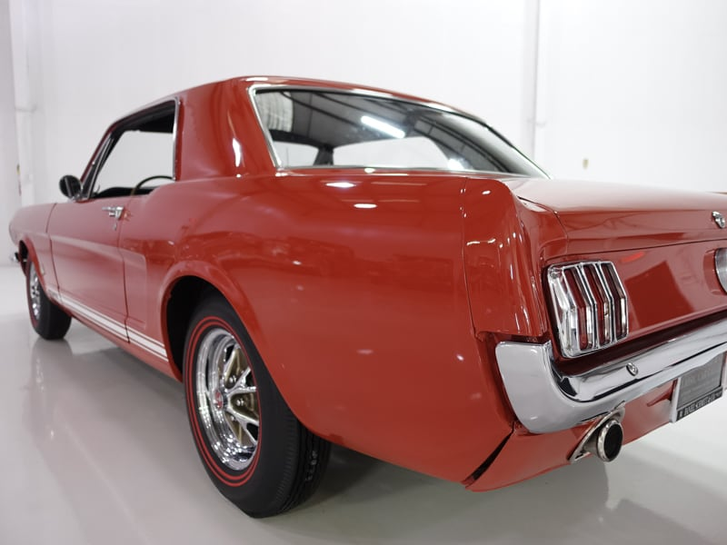1965 Ford Mustang GT Coupe | A-Code 289 high performance engine: 1965 Ford Mustang GT Coupe | Full engine rebuild in 2015 | Pony interior