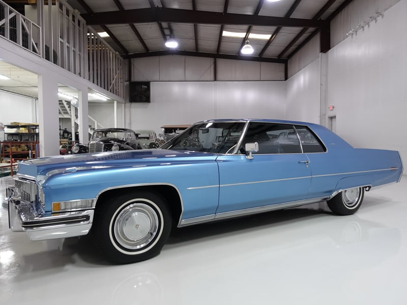 1973 Cadillac Coupe deVille for sale | Daniel Schmitt & Co.
