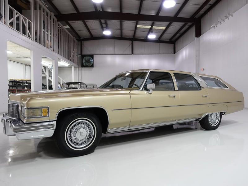 1976 Cadillac Castilian Fleetwood Estate Wagon Originally Owned By