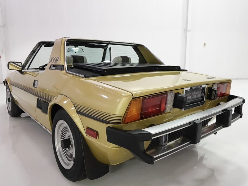 1978 Fiat X1/9 X1/9 | only 25,384 miles | Gorgeous Bertone design: 1978 Fiat X1/9 | Wonderful condition | Limited Edition 1978 Model