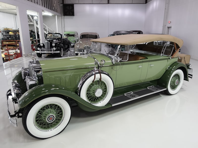 1929 PACKARD DELUXE EIGHT DUAL COWL SPORT PHAETON BY
