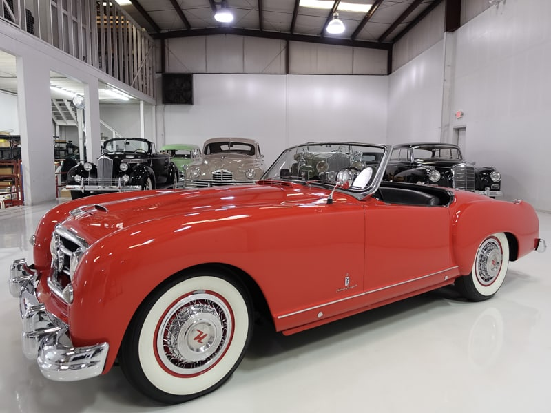 1952 Nash-Healey Roadster for sale at Daniel Schmitt & Co. Classic Car gallery St. Louis, nash healey for sale