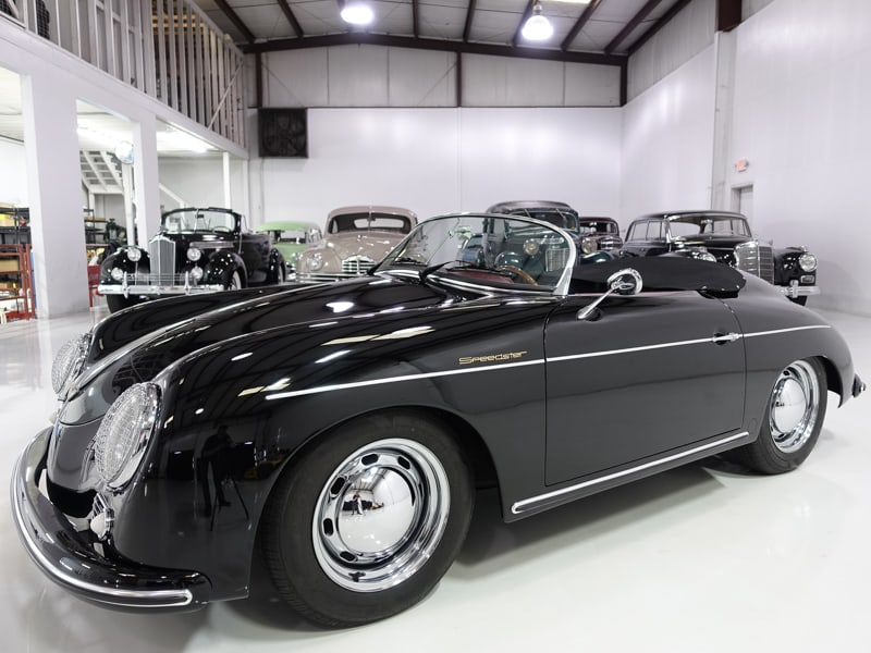 1957 Porsche 356 Speedster Replica by Vintage Speedster for sale by daniel schmitt & co. classic car gallery