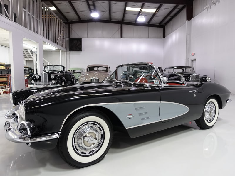 "1961 Chevrolet Corvette 283/270 HP ""Dual Quad"" Roadster for sale by daniel schmitt & co., daniel schmitt classic cars, classic corvette for sale"