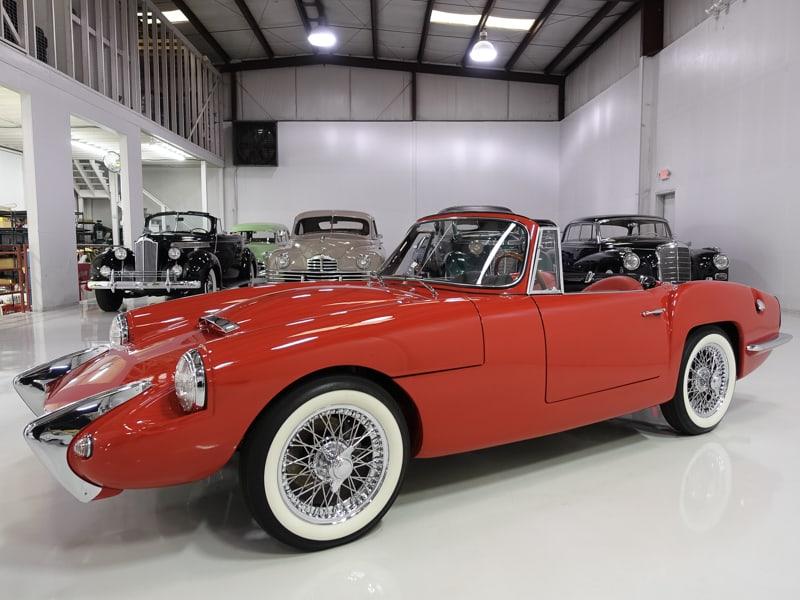 1962 Sabra Sport Roadster for sale at Daniel Schmitt & Co. classic car gallery, classic sabra israeli car