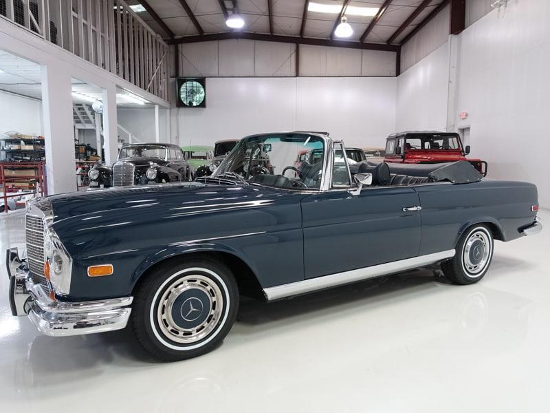 1969 MB 280SE Cabriolet