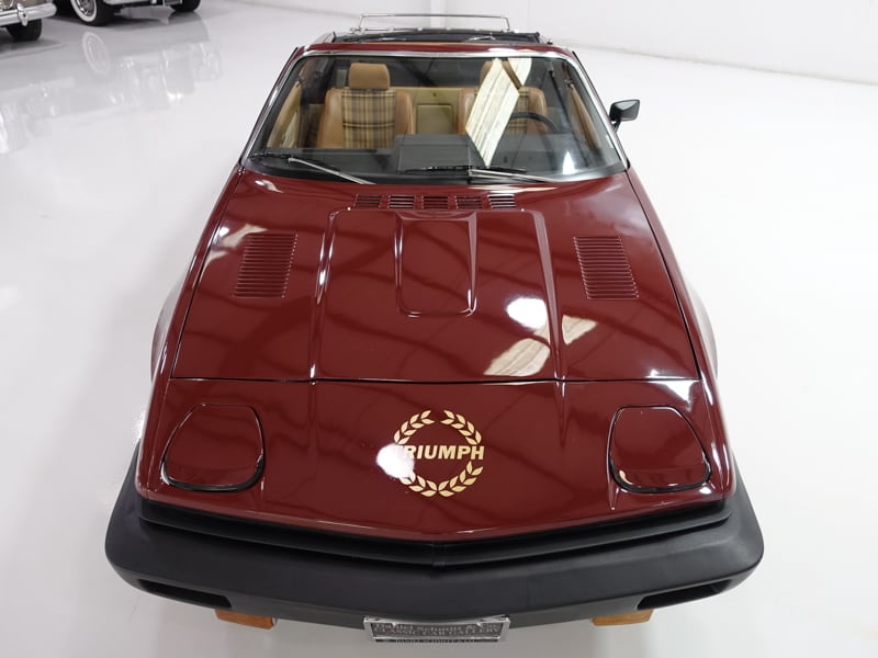 1980 Triumph TR7 Convertible | 55,401 believed-to-be actual miles!: 1980 Triumph TR7 Convertible | Factory air conditioning | Recently serviced