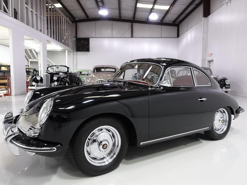 1960 Porsche 356B 1600 Super Coupe by Reutter for sale at Daniel Schmitt & Co., Classic porsche 356b for sale, 356b super coupe porsche