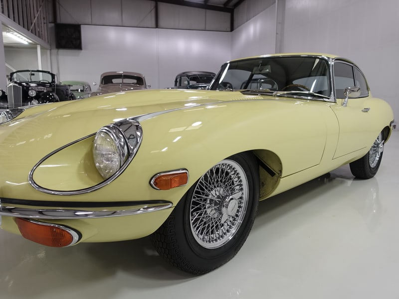 1970 Jaguar E-Type Series II Fixed Head Coupe | 28,150 actual miles!: 1970 Jaguar E-Type Series II Fixed Head Coupe, Single ownership until the 2000's