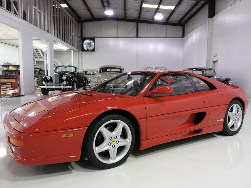 1995 Ferrari F355 Berlinetta for sale at Daniel Schmitt & Co. Classic car Gallery St. Louis, ferrari f355, ferrari berlinetta 355