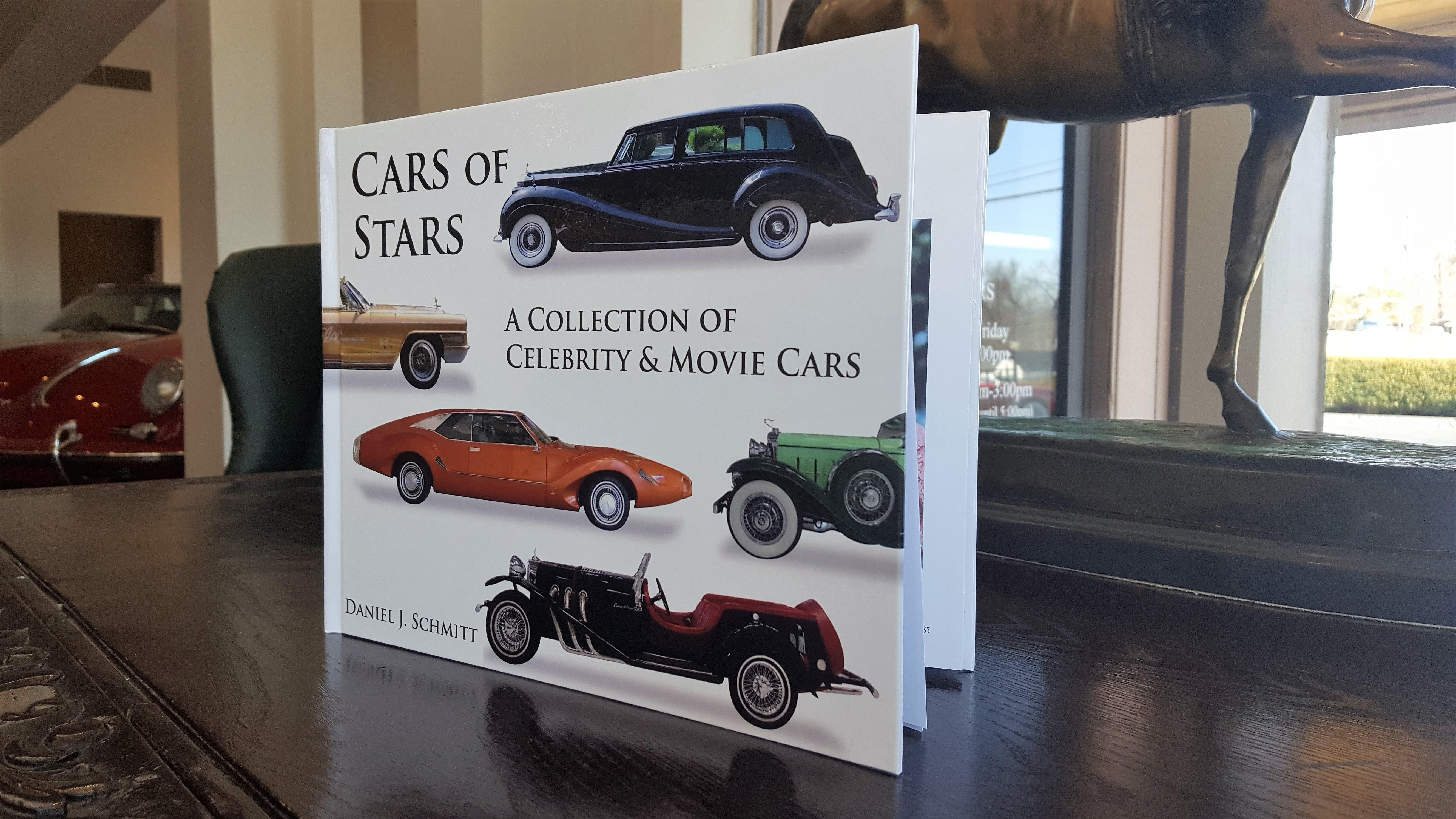 Daniel J. Schmitt Cars of Stars book, premium collector cars for sale