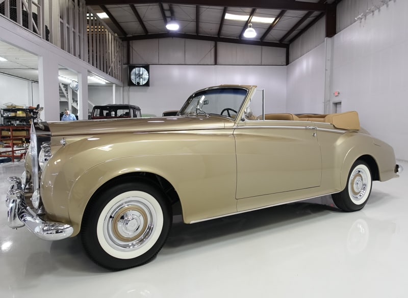 Classic 1959 Rolls-Royce Silver Cloud I Drophead Coupe by H.J. Mulliner for sale at Daniel Schmitt & Co.