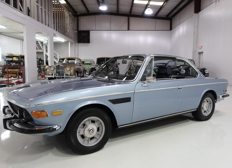 1972 BMW 3.0CS Sunroof Coupe for sale at Daniel Schmitt & Co. Classic car gallery