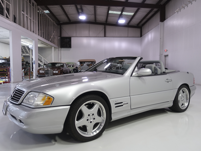 1999 MERCEDES BENZ SL600 AMG SPORT