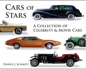 Daniel Schmitt Cars of Stars Hardcover, collector cars for sale