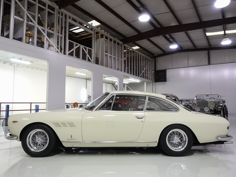 1962 Ferrari 330GT 2+2 Coupe by Pininfarina, Enzo Ferrari personal car for sale at Daniel Schmitt & Co. Classic Car Gallery, important provenance