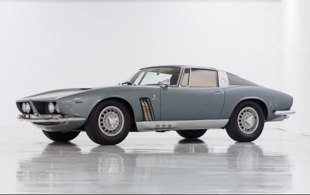 1963 Iso Grifo A3/L Prototype sold for $1,7mil, Iso Grifo sold at auction, rare Iso Grifo classic car, important provenance