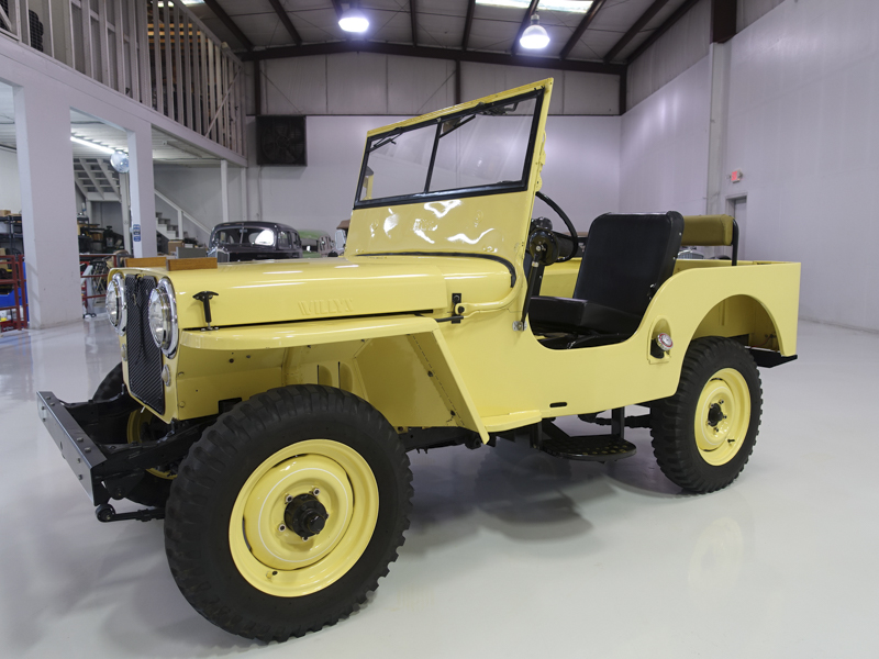Willys Jeep For Sale >> 1948 Willys Jeep Cj 2a For Sale