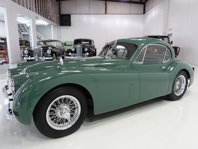 1952 Jaguar XK120SE Fixed Head Coupe