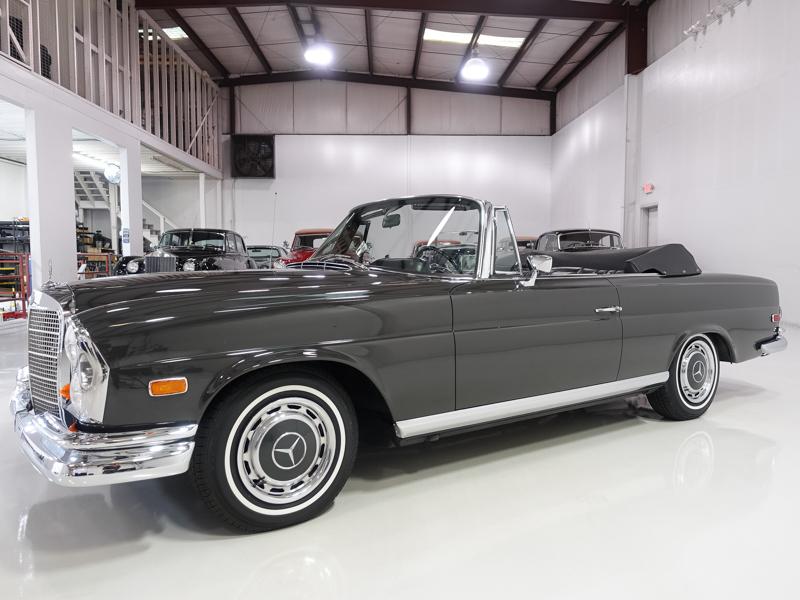 1968 MB 280SE Cabriolet