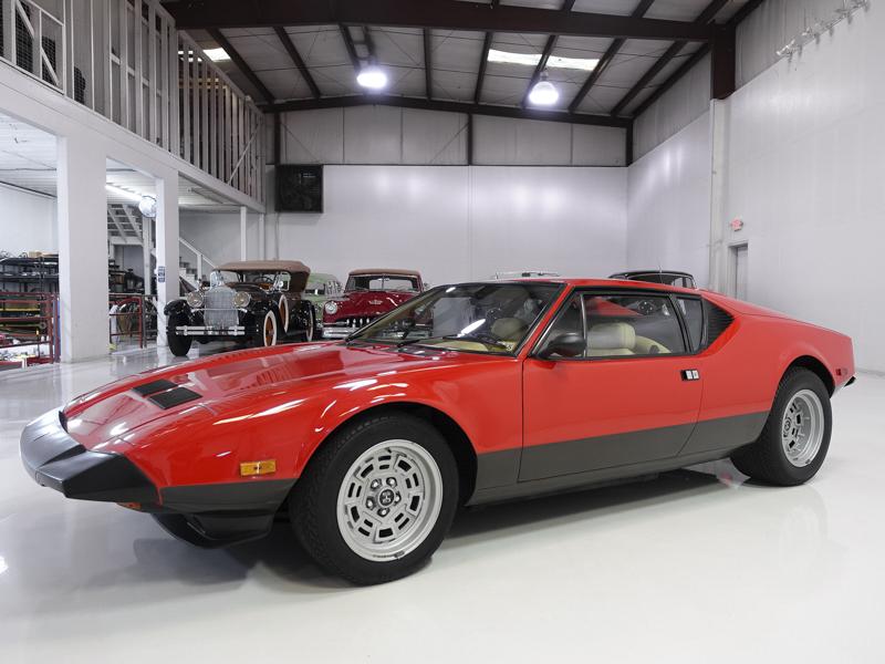 1983 DeTomaso Pantera Carroll Shelby