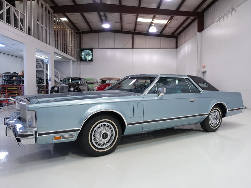 1979 Lincoln Continental Mark V Sunroof Coupe