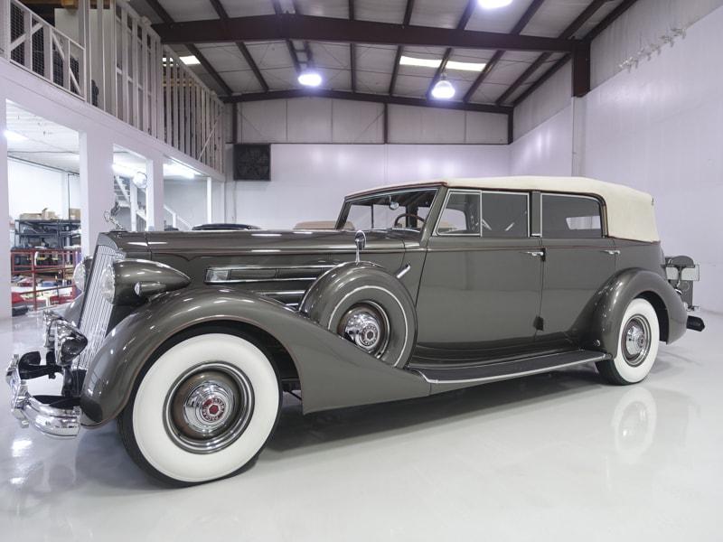 1937 Packard 1508 12 Convertible Sedan