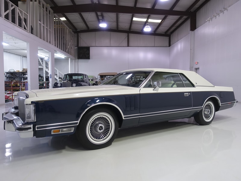 1979 Lincoln Continental Mark V Bill Blass Edition