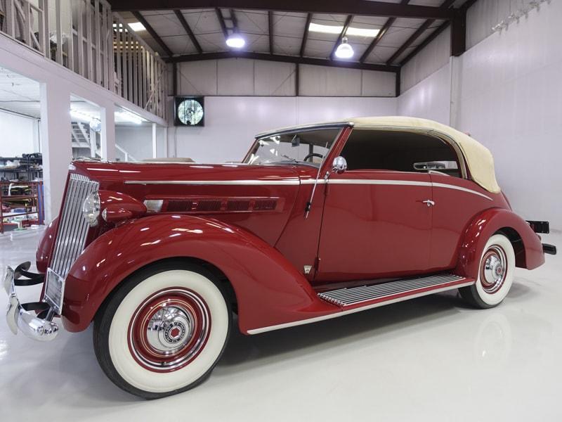 1937 Packard 115-C Coachbuilt Cabriolet