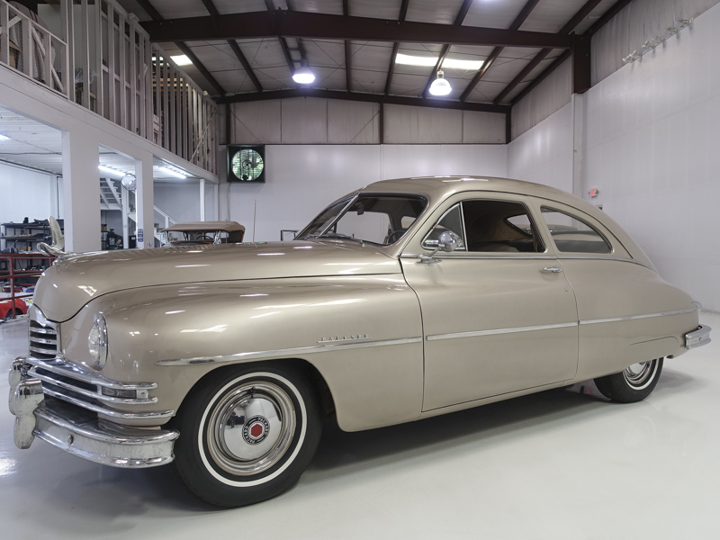 Original unrestored classic 1949 Packard Deluxe Eight Club Sedan for sale