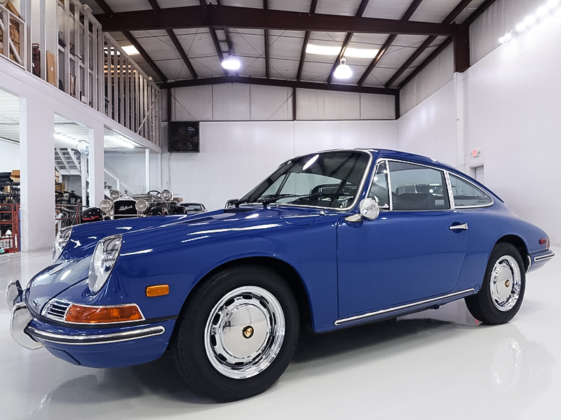 Classic Restored 1968 Porsche 912 Coupe by Karmann with low miles
