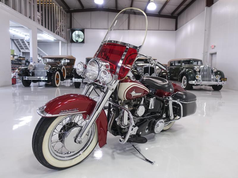 Restored 1961 Harley Davidson Duo-Glide