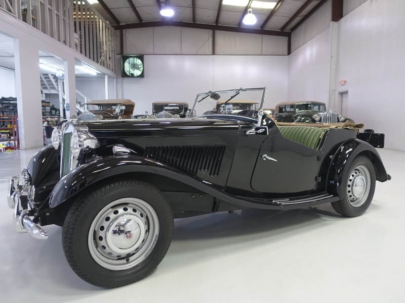 Restored Classic 1953 MG TD Roadster for sale at Daniel Schmitt & Co.
