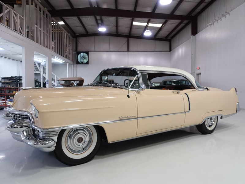 Restored Classic 1955 Cadillac Series 62 Coupe DeVille for sale