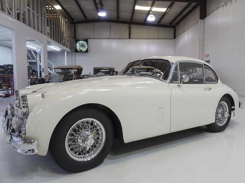 1958 Jaguar XK150 Fixed Head Coupe for sale at Daniel Schmitt & Co.