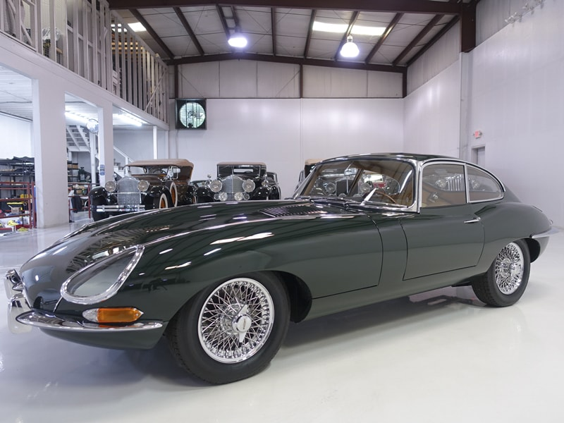 1961 Jaguar E-Type Series I Flat Floor Fixed Head Coupe