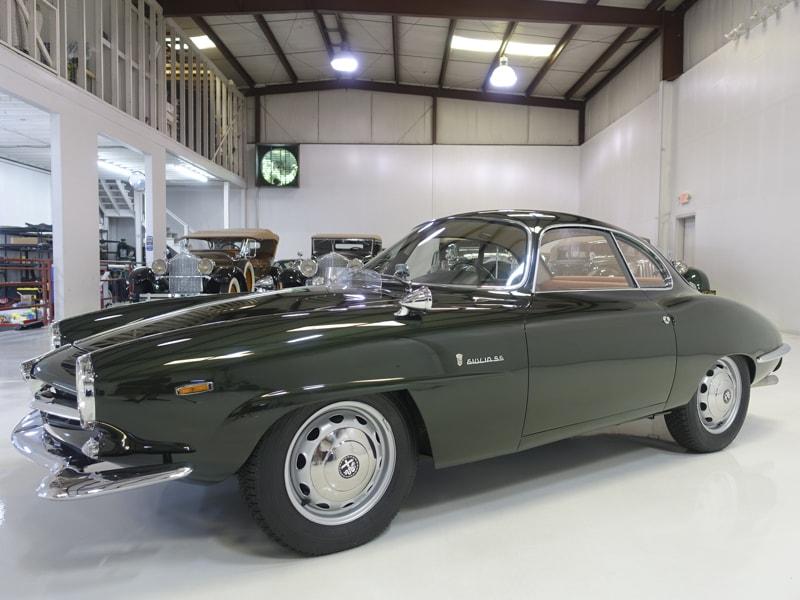 1964 Alfa Romeo Giulia 1600 Sprint Speciale by Bertone