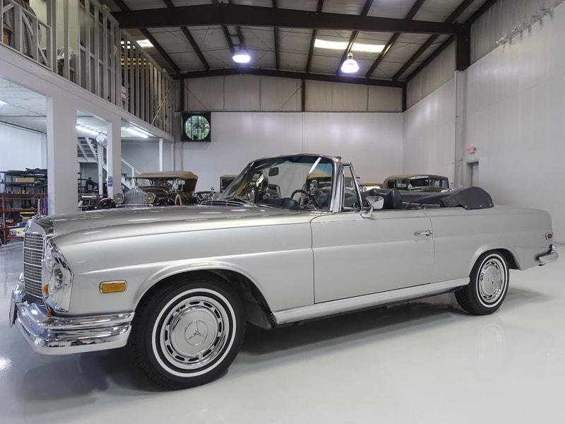 Restored 1969 Mercedes-Benz 280SE Cabriolet for sale