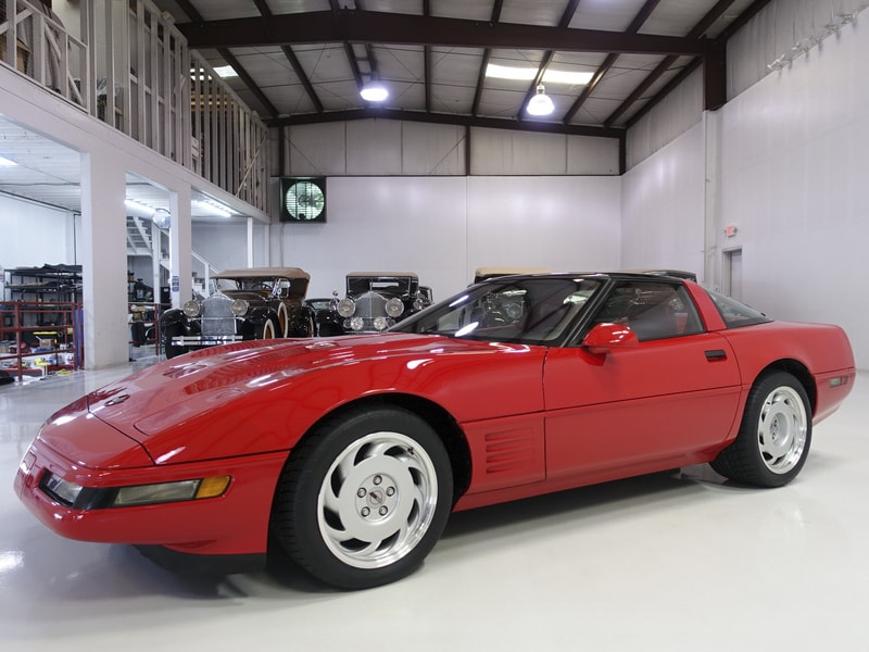 Original, one owner, low mileage 1991 Chevrolet Corvette ZR1 for sale