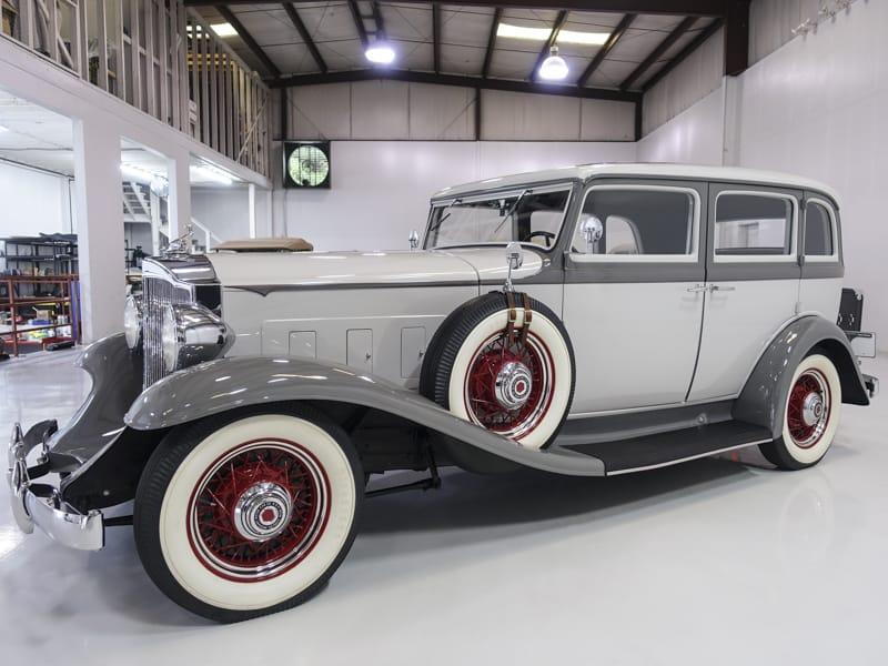 Restored 1932 Packard Shovelnose 900 Light Eight Sedan